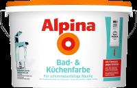 5L ALPINA Bad- und Küchenfarbe, weiß matt