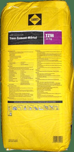 30kg Sakret Trass-Naturstein-Mörtel TZM