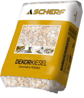 25Kg SCHERF-Marmor Zierkiesel Siena-Gelb 15-25mm