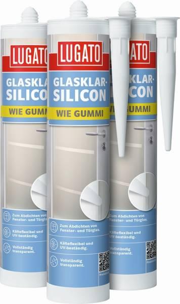 310ml Lugato Glasklar-Silicon Wie Gummi