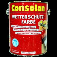 2,5 Liter Consolan Wetterschutzfarbe nordisch gelb