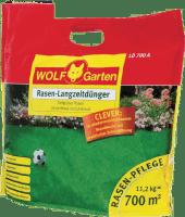 11,2kg Wolf Garten LD 700 A Rasen-Langzeitdünger