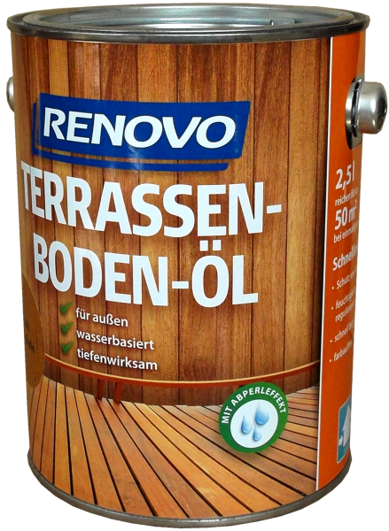 2,5l Renovo Terrassenboden Öl Lärche