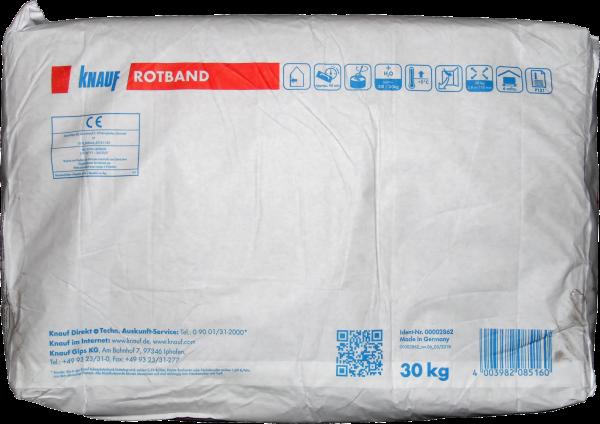 30kg Knauf Rotband Haftputzgips zum Glätten
