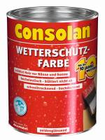 2,5 Liter Consolan Wetterschutzfarbe braun