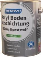 2,5ltr Renovo Acryl Bodenbeschichtung steingrau
