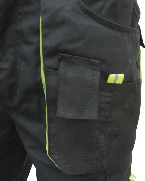 Triuso POWER Shorts Gr. 46 schwarz/grün