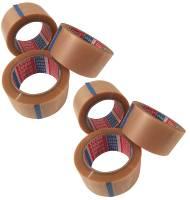 6x tesa Packband PVC 66mx50mm transp. Premium