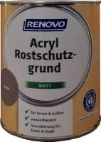 750ml Renovo Acryl Rostschutzgrund, RAL 7106 grau