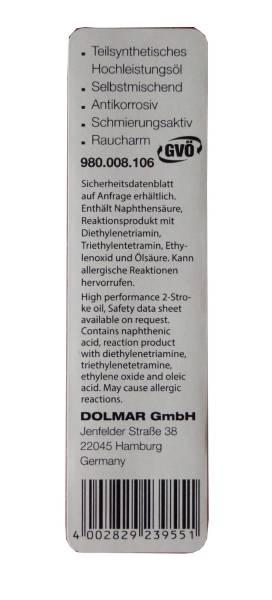 100ml Dolmar Zweitakt-Motoröl Mischöl 50:1
