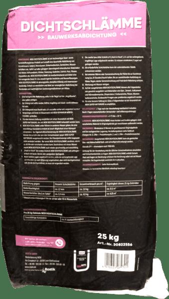 25kg MEM Dichtschlämme mineralisch, innen und außen