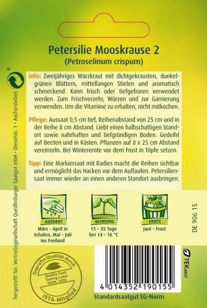 Petersilie Mooskrause 2/Gärtnerstolz