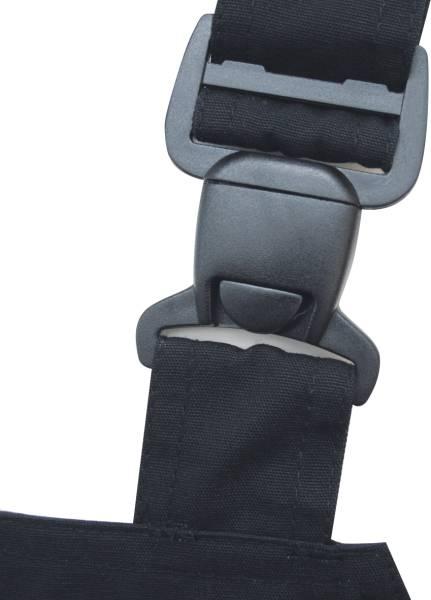Triuso POWER Latzhose schwarz/grün 270g Größe 58