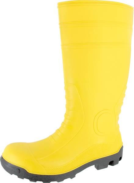 Sicherheitsstiefel gelb EN ISO 20345:2004/S5