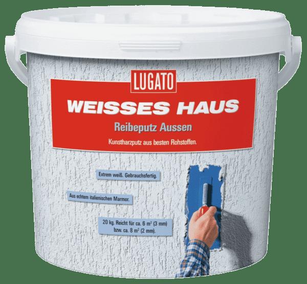 20kg Lugato WH Reibeputz Aussen 3mm