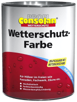 2,5L Profi Consolan Wetterschutzfarbe dunkelbraun