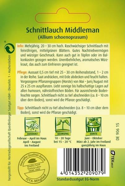 Schnittlauch Middleman