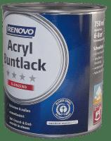 750ml Renovo Acryl Glanzlack RAL 9001 Cremeweiß