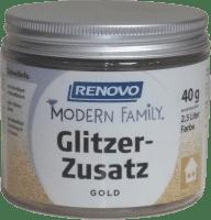 40g Renovo Glitzerzusatz, Modern Family, Gold