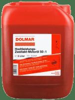 5 Liter Dolmar Mischöl 2-Takt Hochleistungs-Öl bis 50:1