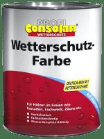 2,5L Profi Consolan Wetterschutzfarbe gelb