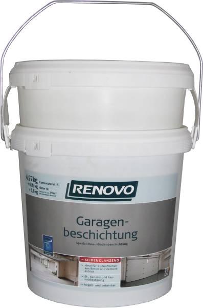 2x5,8Kg Garagen-Boden-Beschichtung 2-K silbergrau