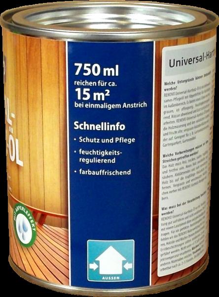 750ml Renovo Universal-Hartholzöl Farblos wasserbasis