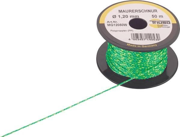 50m Profi-Maurerschnur 2mm grün