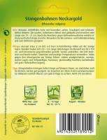 Stangenbohnen Neckargold