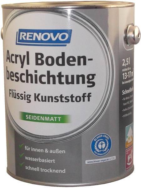 2,5L Renovo Acryl - Bodenbeschichtung weiß